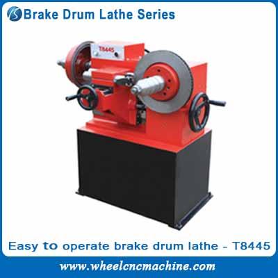 Easy to Operate Brake Drum Lathe series