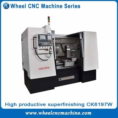 high productive Wheel CNC machine series