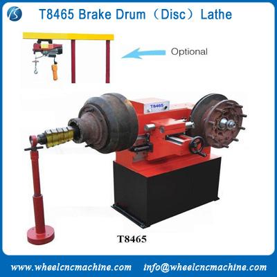 brake drum lathe machine