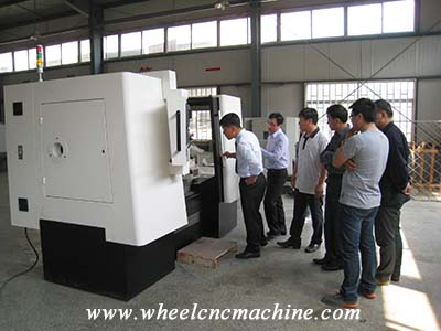 Our Partner from South Korea coming for wheel CNC lathe procurement