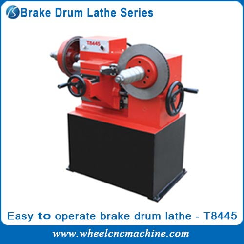 Easy Operateble Brake Drum Lathe T8445