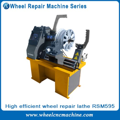 High efficient wheel repair machines