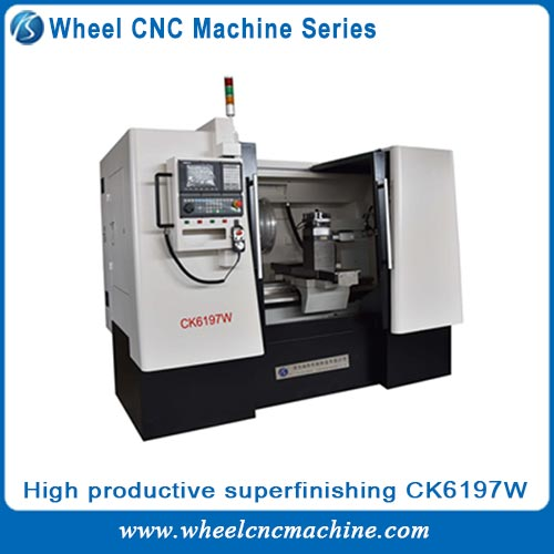 high productive CNC Wheel machine