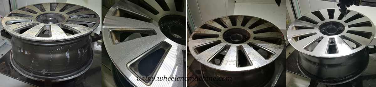 Wheel Repair Lathe Wheel Cnc Machine Wheel Lathe