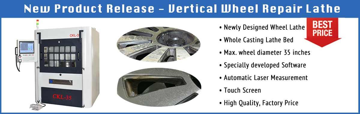 Vertical Wheel Repair Lathe New release